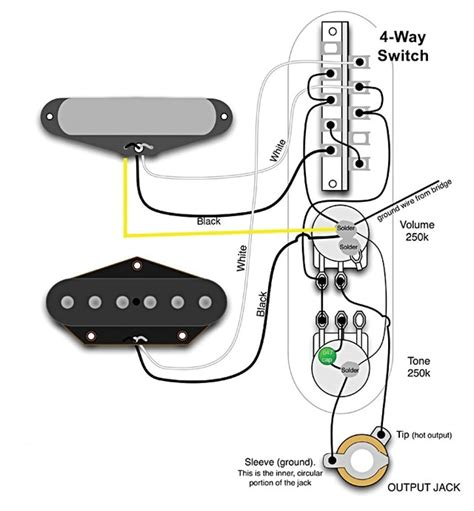 tele 4 way switch wiring diagrams wiring diagrams