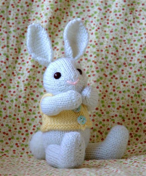 knitting pattern for easter knitting pattern easter bunny pdf file