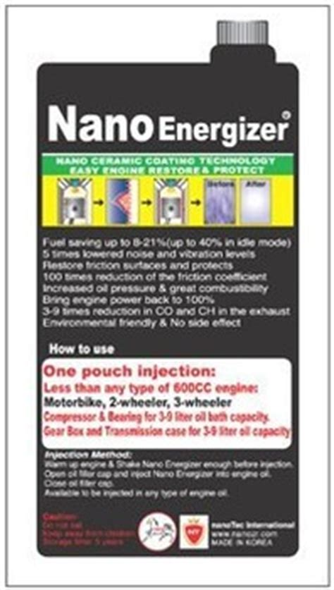 Nano Energizer Mobil All In One Type 1 nano energizer ceramic coating buy anti aging car care