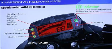 Speedometer Byson aripitstop 187 ada apa saja di speedometer all new byson fi