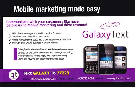 mobile sms marketing montreal mobile marketing with sms text texto message