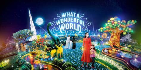 Garden Decoration Dubai by World S Largest Glow Destination Quot Dubai Garden Glow Quot To