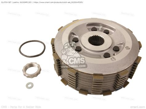 Clutch Set by 06200mfl305 Clutch Set Honda 06200 Mfl 305