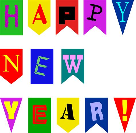 new year flag clipart new year flags by rones