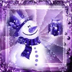 purple snowman picture  blingeecom