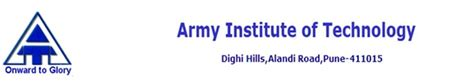 Acceptance Rate For Institute Of Technology Mba by Army Institute Of Technology Ait Pune Admissions 2018