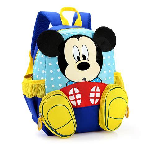 bags kindergarten 2017 mickey school bag minnie bag children backpack