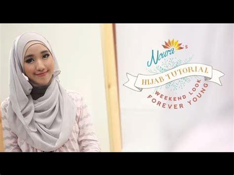 tutorial hijab noura tutorial hijab forever young by sasa noura youtube