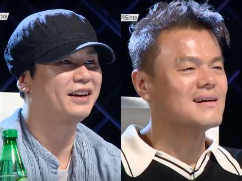 blackpink yang hyun suk yang hyun suk and park jin young can t help but disagree