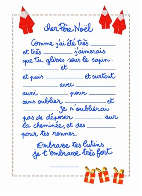 letter to santa template ks2 free printable template for a letter to santa in french