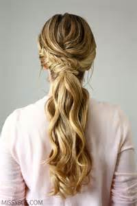 25 best ideas about formal ponytail on best 25 wedding ponytail hairstyles ideas on