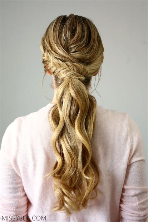 Wedding Hairstyles Ponytail by 25 Best Ideas About Wedding Ponytail Hairstyles On