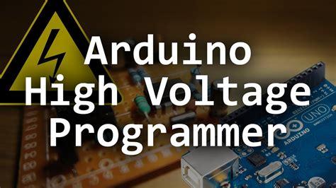 high voltage serial programming avr arduino based high voltage serial programmer