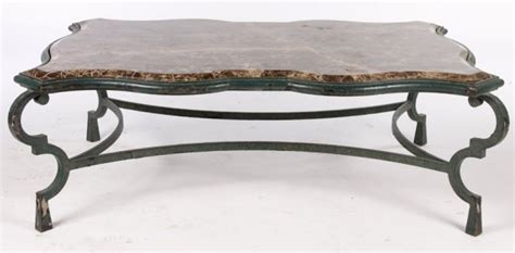 marble and wrought iron coffee table wrought iron coffee table with marble top