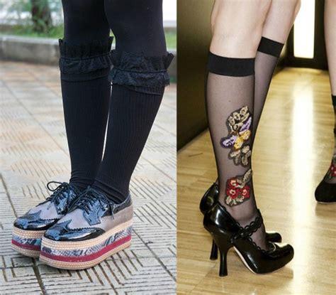 superga fiorate calzini calze e calzettoni un trend da non sottovalutare