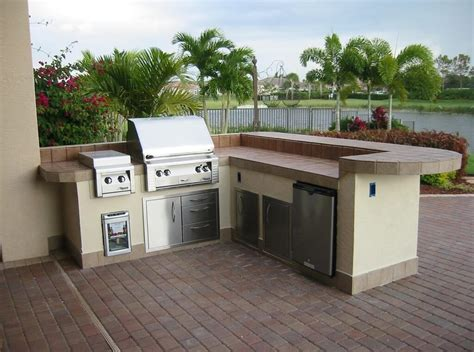 outdoor kitchen cabinet kits outdoors good prefab outdoor kitchen kits with grill and
