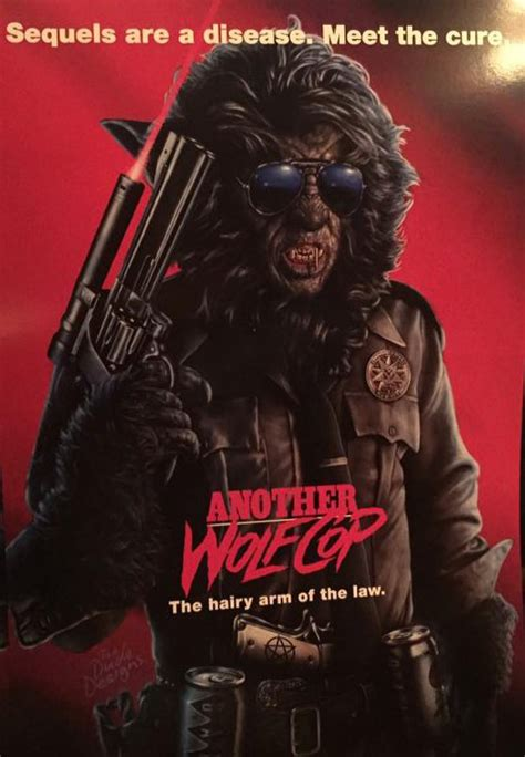 local movies another wolfcop by leo fafard another wolfcop poster pays homage to stallone s cobra