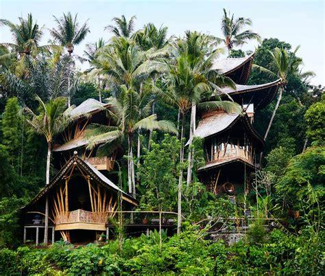 Eco House Design bamboo architecture inhabitat green design innovation