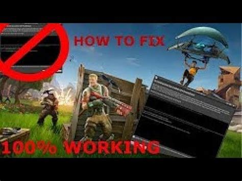 fortnite keeps crashing pc how to fix fortnite crashing on launch startup pc in
