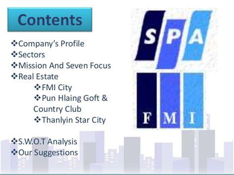 Real Estate Mba Internships by Thanlyan City Mba Internship Programme