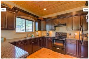 Black Kitchen Appliances Ideas Espresso Cabinets With Black Appliances Kitchen Ideas