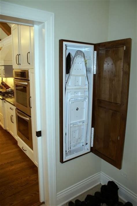 Concealed Ironing Board Cabinet Ironing Board Build