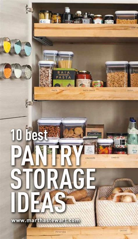 Martha Stewart Pantry List by 10 Best Pantry Storage Ideas Storage Ideas Pantry And