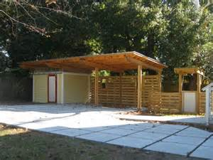 Modern Carport Modern Carport Backyard Pinterest