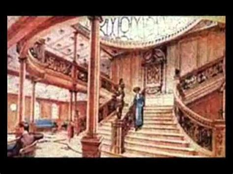 titanic boat now rms titanic grand and aft staircase now and then youtube