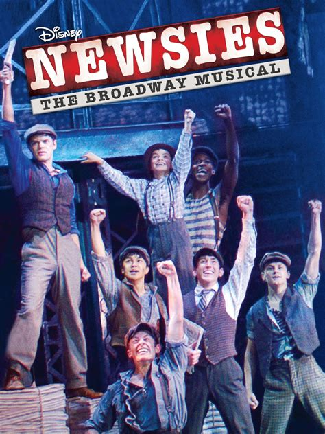 pre order newsies the broadway musical for just 19 99