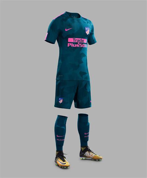 Celana Atletico Madrid 3rd 17 18 nike atl 233 tico madrid 17 18 third kit released footy headlines