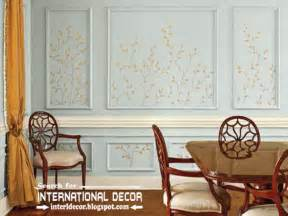 bedroom wall panel design ideas:  wall molding or wall moulding styles concepts top home decor