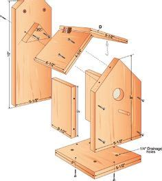 How To Make A Bird Out Of Construction Paper - free bird house plans bird house plans