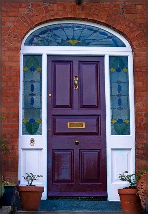 purple front door deep purple doors front door freak