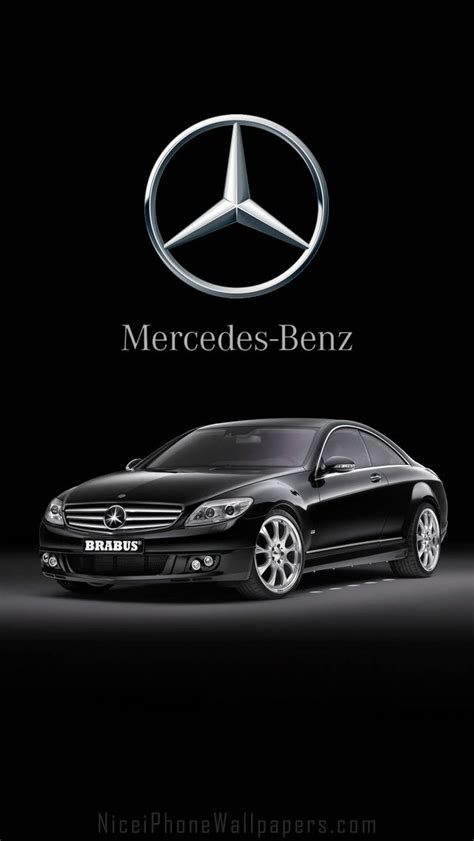 wallpaper for iphone mercedes mercedes benz cl600 brabus hd iphone 5 wallpaper cars