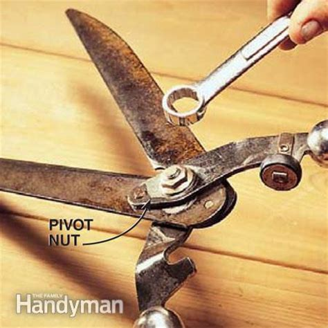 How To Sharpen Garden Shears by How To Sharpen Garden Tools The Family Handyman