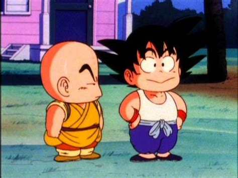 imagenes de goku cuando era niño dragon ball images goku krillin s friendship wallpaper