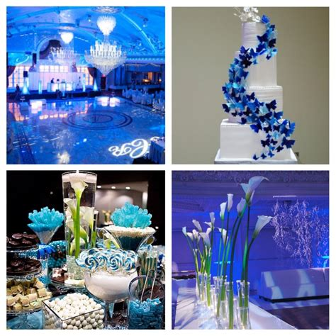 theme wedding reception decor tbdress why should you choose blue wedding themes