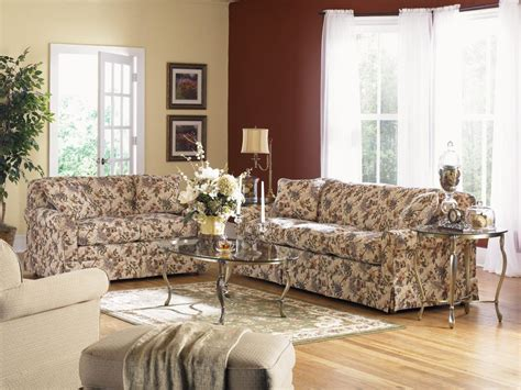 lazy boy england sofa supreme comfort queen sleep sofa by la z boy wolf and