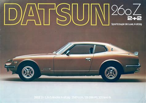 Nissan Datsun 260z Cars History Ruelspot Com