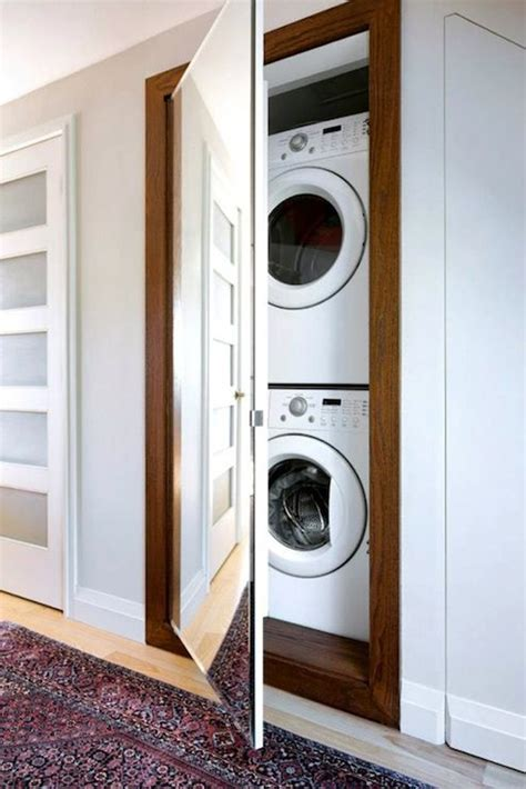 how to hide washer and dryer in bathroom 20 stylish and hidden laundry room designs home design