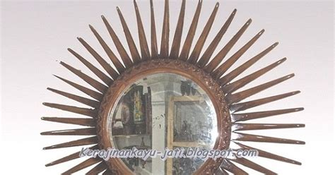 Jual Cermin Hias Murah jual cermin hias kayu jati kerajinan kayu jati