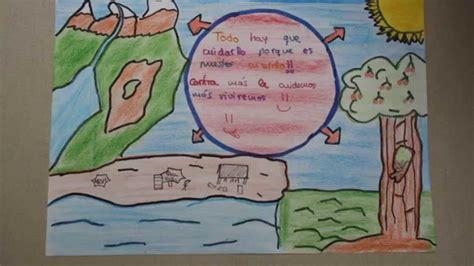 dibujo alusido del cuidado del medio ambiente dibujos medioambiente youtube