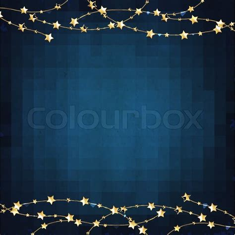 navy blue background with golden royal borders stock image and xmas blue background with gold stars stock vector
