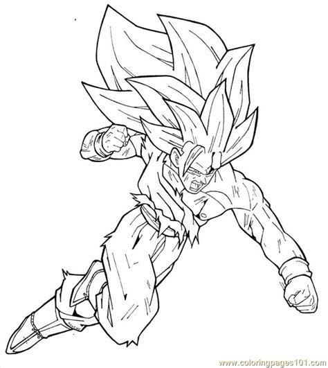 dragon ball coloring pages goku free 1 goku coloring pages