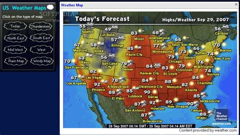 us weather map driving conditions us weather map forecast my