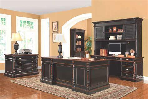 traditional office desk traditional black wood office desk co 721 desks