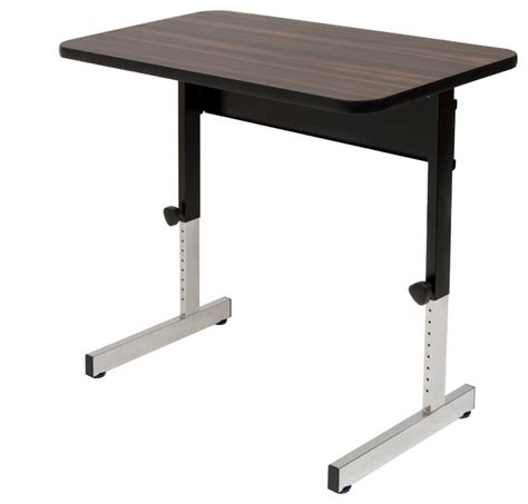 36 computer desk with hutch 410379 adapta 36 quot x 20 quot industrial desks and