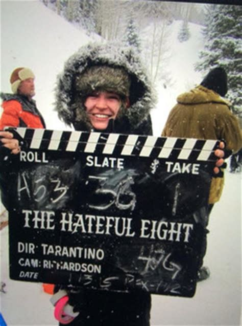 quentin tarantino film in telluride quentin tarantino s the hateful eight spotted filming at