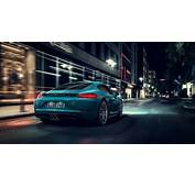 Wallpaper Porsche Cayman S Rear View 4K Automotive